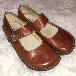 Algeria brown maryjane shoes